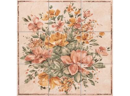 Lord Classic collection Classica Composizione 9 Pz. Floreale Rosso