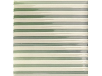 Mainzu Lucciola Stripe Green