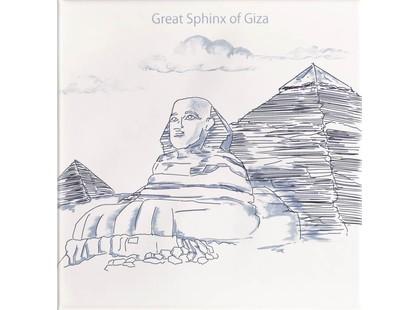 Mainzu Ondulado Dec. World  1 Great Sphinx Of Giza