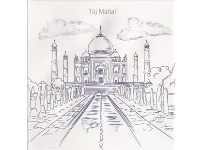 Mainzu Ondulado Dec. World  1  Taj Mahal