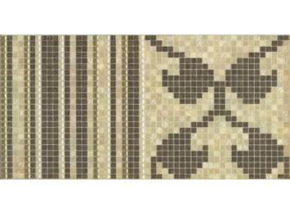 Mainzu Petra Dec. Mosaico Lineal Dorado