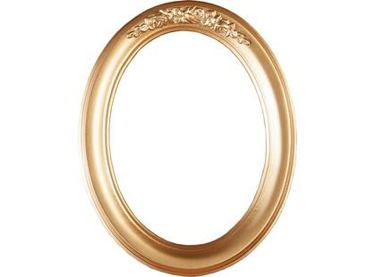 Mapisa Montevarchi Wood Foto Frame Gold Oval