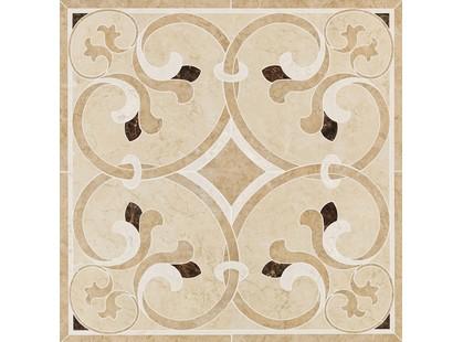Marazzi Ragno Neoclassica Decor Rosone Beige/Noce/Dark Emperador R1LF