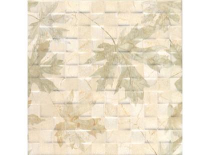 Mayolica Dakar Hojas Mosaico Crema