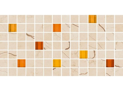 Meissen Playa Cream Glass Mosaic