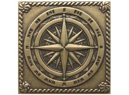 Moneli Decor Декоративные вставки (латунь) Windrose Shined brass (бронза полированная)