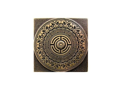 Moneli Decor Olambrilla Creta Shined Brass
