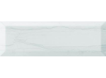 Monopole Ceramica Antique Gris Laguna Blanco Brillo Bisel