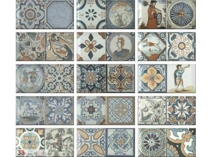 Monopole Ceramica Antique Antique (микс из разных плиток)