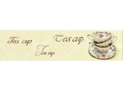 Monopole Ceramica Veronika Tea Cup Crema Mate 10x40