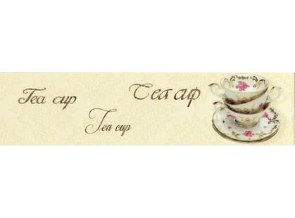 Monopole Ceramica Veronika Tea Cup Crema Brillo