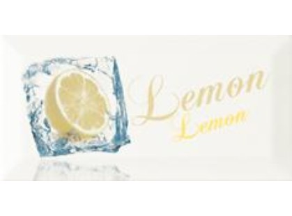 Monopole Ceramica Bisel Decor Ice Lemon