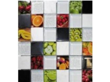 Мозаика Китайская мозаика Fruits (стекло, металл, камень)