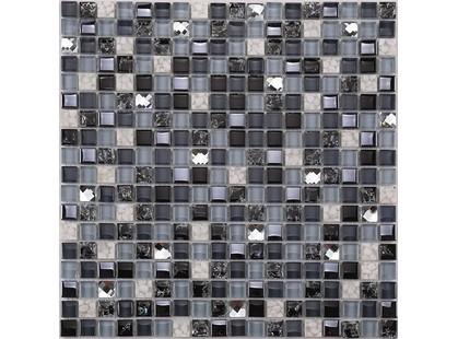 Мозаика Китайская мозаика KS 99-B основа-сетка ПВХ,микс,(1,5*1,5)*0,8