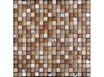 Мозаика Китайская мозаика KS 65 (15*15*8) Бежевый Мрамор С Зеркалом