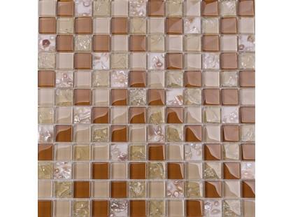 Мозаика Китайская мозаика RA 02  основа-сетка ПВХ,микс,(2,3*2,3)*0,8