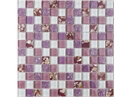 Мозаика Китайская мозаика RA 07 основа-сетка ПВХ,микс,(2,3*2,3)*0,8