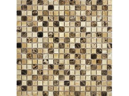 Muare Каменная Мозаика QS-010-15P/8