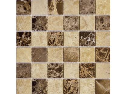 Muare Каменная Мозаика QS-031-48P/8