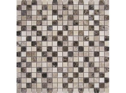 Muare Каменная Мозаика QS-048-15P/8