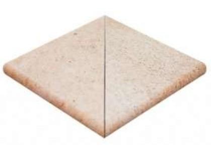 Natucer Granite Grosseto Angulo Peldano Ext. 2 pz R-12 Grosseto