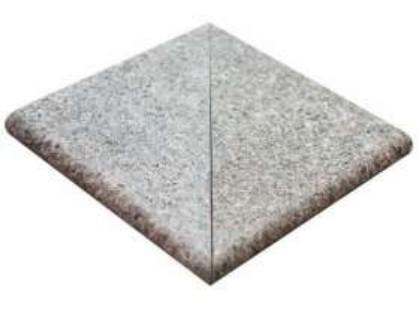 Natucer Granite Grosseto Angulo Peldano Ext. 2 pz R-12 Carrara