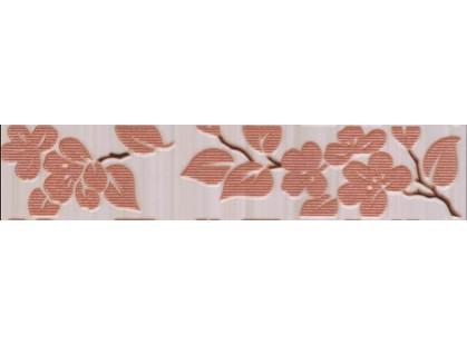Нефрит Кензо светло-терракотовый Цветы