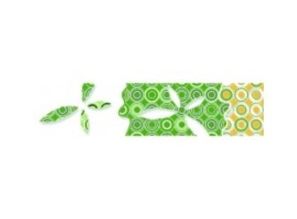 Нефрит Кураж Бабочки Зеленый
