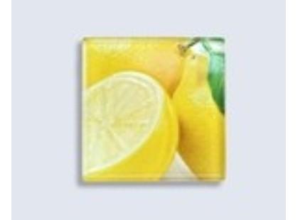 Нефрит Толедо лимон (стеклянный)
