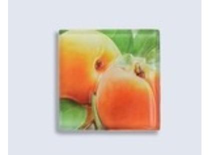 Нефрит Толедо персик (стеклянный)