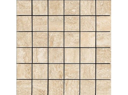 Novabell Absolute Travertino Beige Absolute Mosaico 5x5 Lappato Travertino Beige