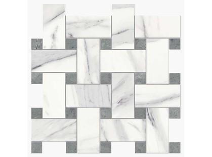 Novabell Imperial Intreccio Calacatta Bianco/Grigio Imperiale Silk