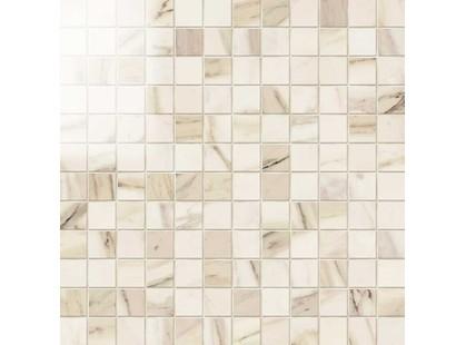 Novabell Imperial Mosaico 2,5*2,5 Calacatta Beige Lap.
