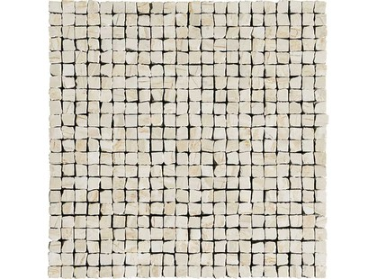 Novabell Imperial Mosaico Spacco Calacatta Beige Lap.