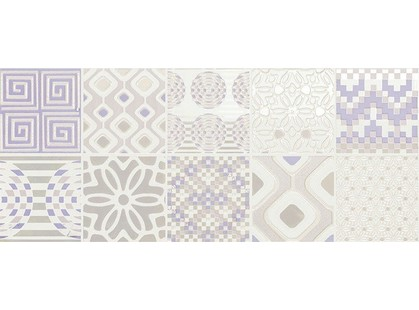 Novabell Milady MLW D27K Decoro Preinciso Patchwork White/Lilac