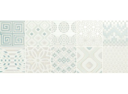 Novabell Milady MLW D77K Decoro Preinciso Patchwork White/Mint