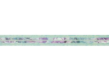 Novabell Milady MLW X73K Listello Wallpaper Water Green