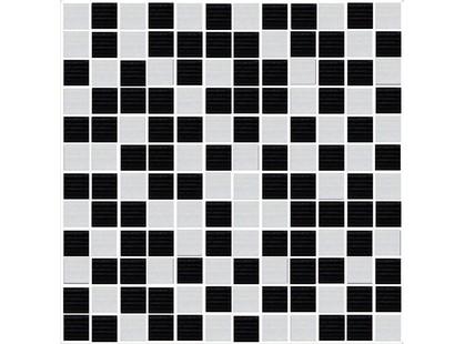 Novogres Gerbera Mosaico Energy Black-Blanco