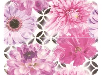 Opoczno Black&White French Bistro Flower Ins (O-FRB-WPE452)