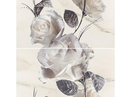 Opoczno Carrara White Flower