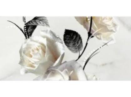 Opoczno Carrara Белый Цветок (O-CRR-WPG052) / 2 часть