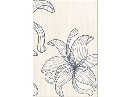 Opoczno Lorena Szara Flower C (O-LOR-WIG403)