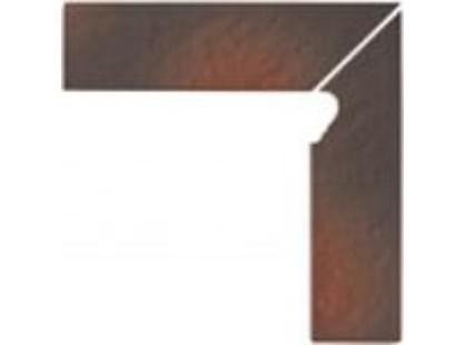 Opoczno Shadow brown Cokol Schodowy 3-d PRAWY
