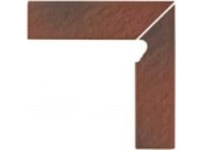 Opoczno Shadow red Cokol Schodowy 3-d PRAWY