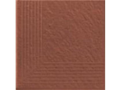 Opoczno Simple red Ступень угловая 3-D R