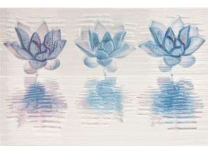 Pamesa Ceramica Eastern Dec. Nenufar Blanco (2pz)