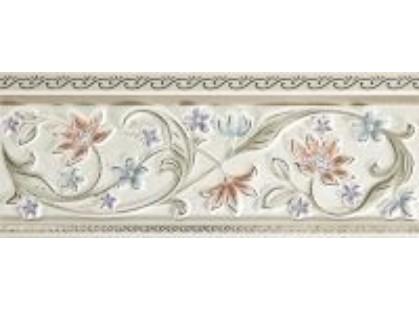Pamesa Ceramica Sintra Listelo Romantica Blanco