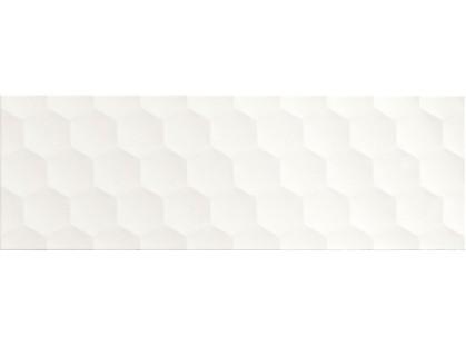 Pamesa Ceramica White Rev. Glace Blanco
