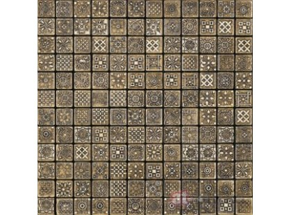 Petra Antiqua Acqueforti mosaics Dark Gold 800