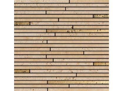 Petra Antiqua Mosaico Artemide 10 Travertino Chiaro